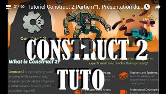 Tutoriel Construct2. Réalisation d'un jeu glisser/déposer ou drag and drop.