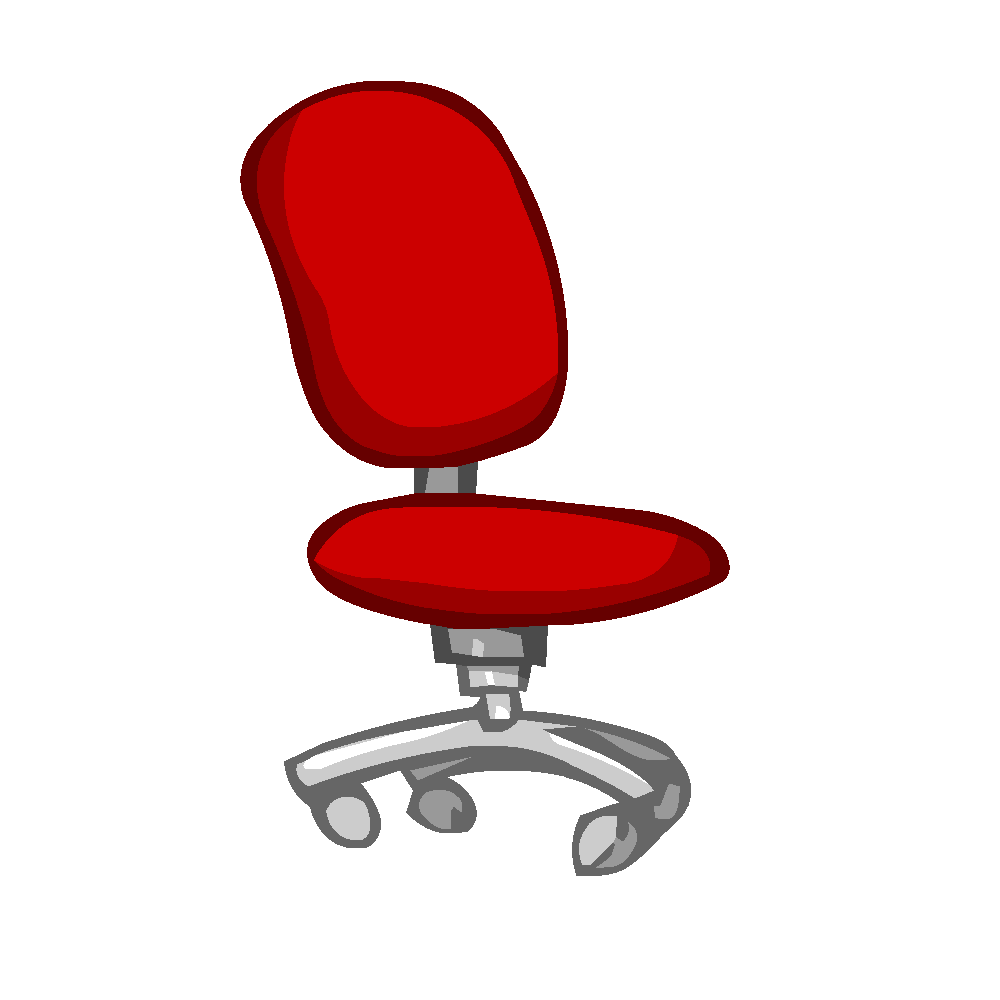 Chaises images en png fond transparent tests jeux for Bureau transparent