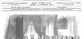 L'illustration journal universel n° 1617 – 21 février 1874 – Les élections en Angleterre : un bureau électoral.