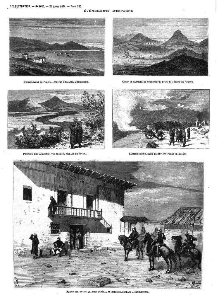 Evénements d'Espagne (8 gravures).