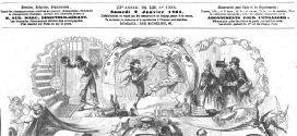 L'illustration journal universel n° 1088. Événements de Pologne : Les Russes mis en déroute par le détachement de l'abbé Mackiewich 1864