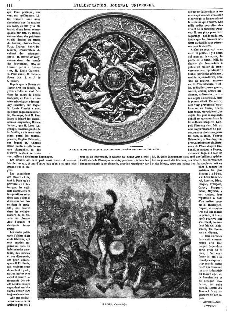 La Gazette des Beaux-Arts