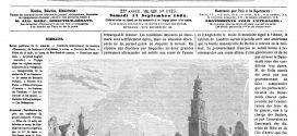 L'illustration journal universel n° 1125. Distribution des prix aux orphéons du grand concours d'Arras. 1864