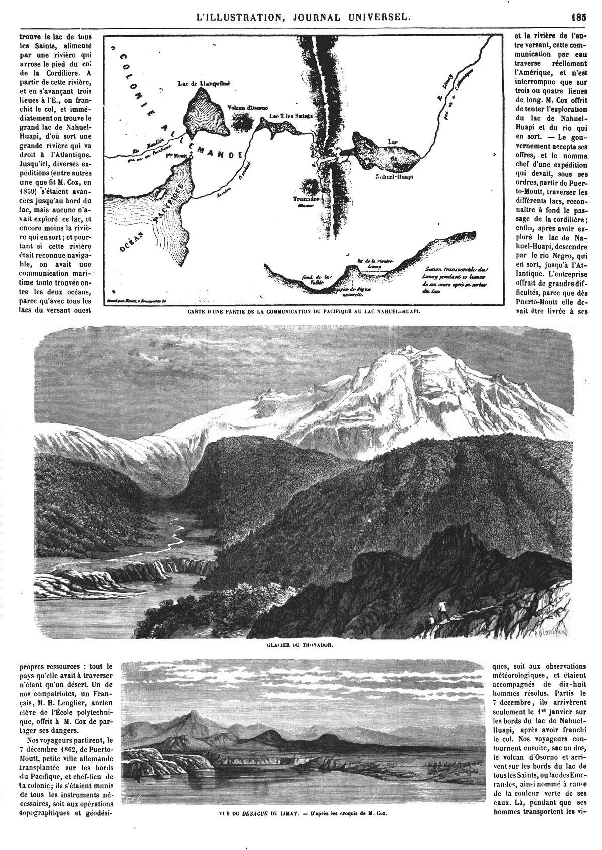 Voyage dans les régions septentrionales de la Patagonie