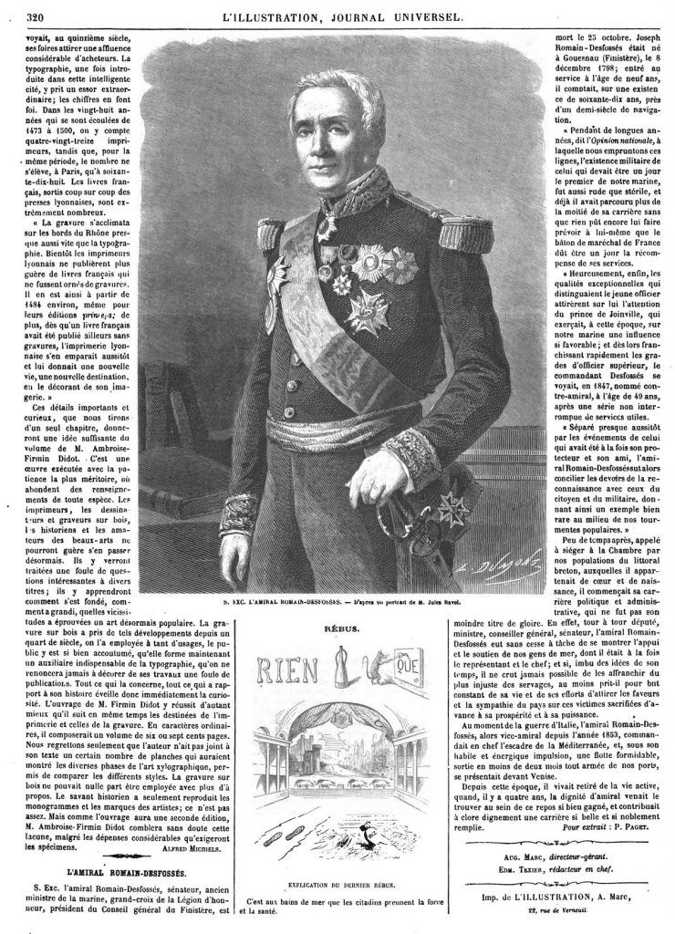 S. Exc. l'amiral Romain-Deffosses. 1864