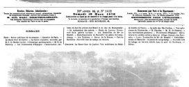 L'illustration journal universel n° 1412. La Haute-Cour de justice : Vue extérieure du Palais de Justice de Tours; Gravures 1870