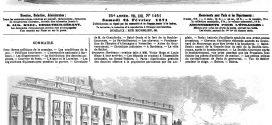 L'illustration journal universel n° 1461. Bordeaux : ovation faite à M. Victor Hugo et Louis Blanc à leur arrivée 1871