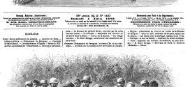 L'illustration journal universel n° 1423. Accident sur le chemin de fer de Poitiers à Limoges.1870