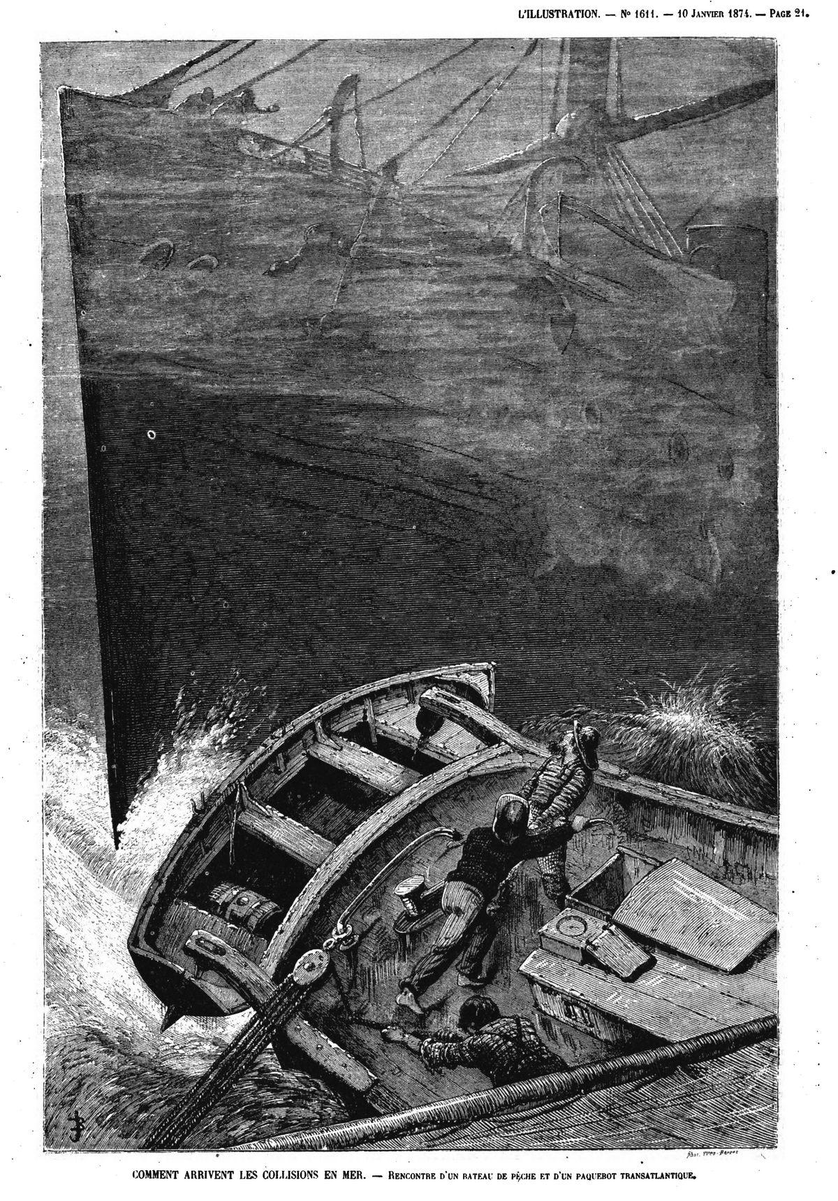 un navire illustration