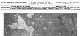 L'illustration journal universel n° 1639.  25 juillet 1874. Les instruments de la station astronomique française du Japon
