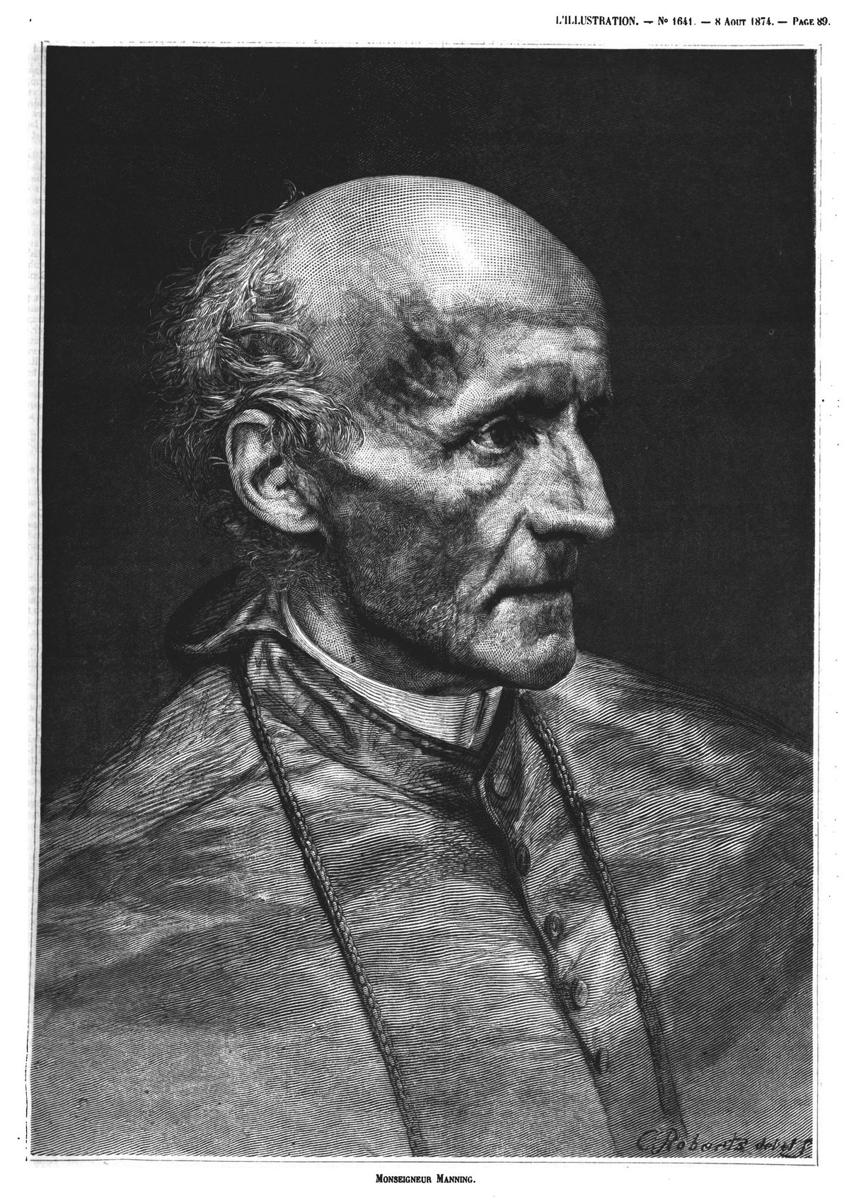 Mgr Manning 1874