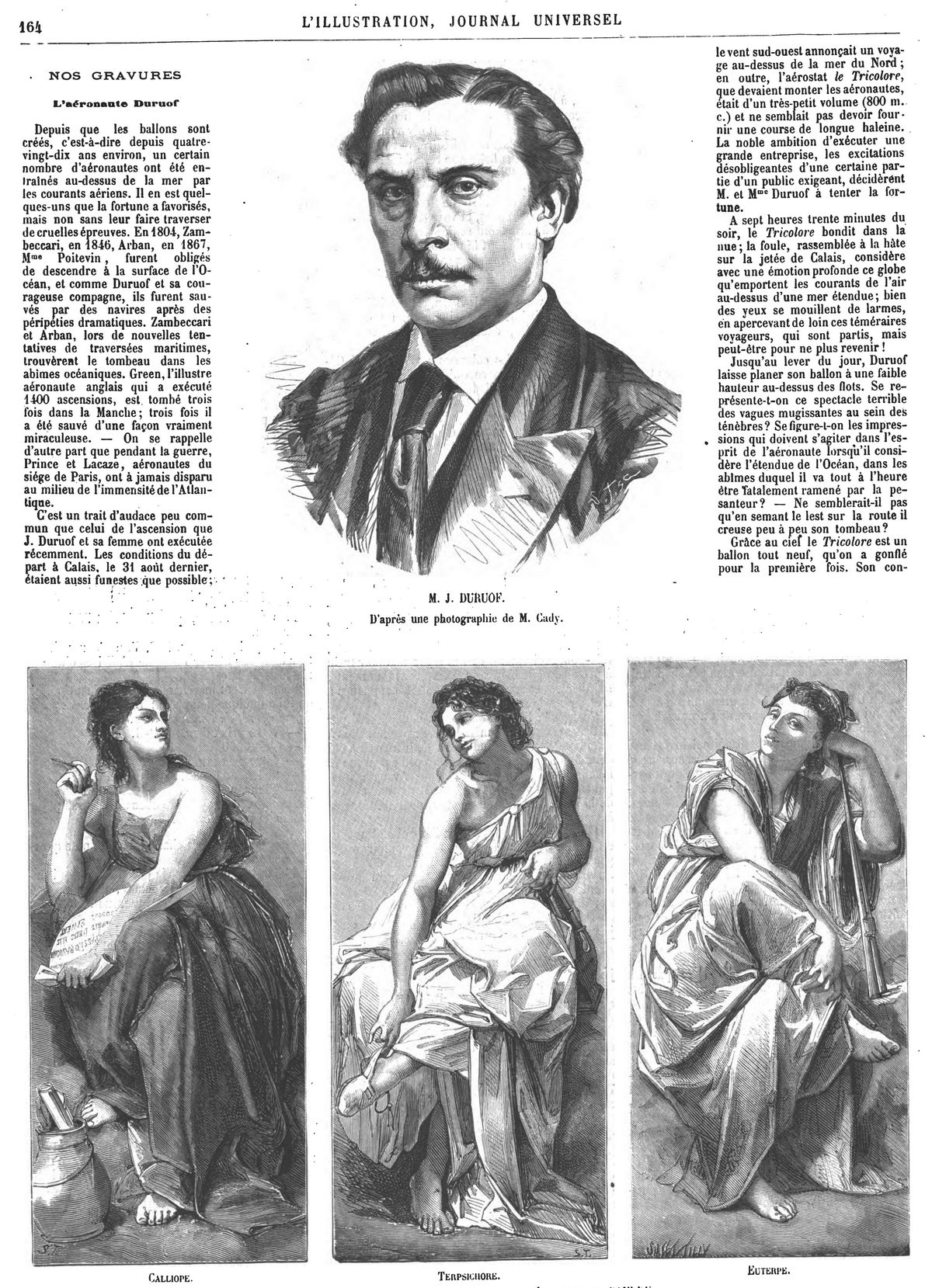 M. Duruof. Gravures 1874