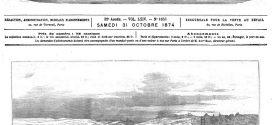 L'illustration journal universel n° 1653. Visite du maréchal de Mac-Mahon aux travaux de construction du fort de Châtillon. Gravure 1874