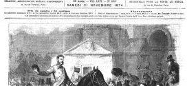 L'illustration journal universel n° 1656.La France pittoresque : le château de Diant (Seine-et-Marne). Gravure 1874