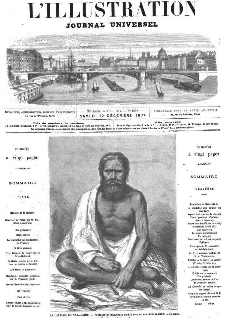 La capture de Nana-Sahib
