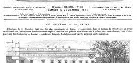 L'illustration journal universel n° 1660. La révolution de la république Argentine : occupation par les troupes du palais du gouvernement, à Buenos-Aires. 1874
