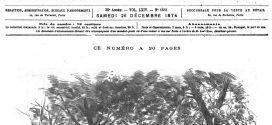 L'illustration journal universel n° 1661-Le passage de Vénus sur le Soleil : mission française de Pékin ; aspect extérieur de l'observatoire mobile. (Gravure 1874)