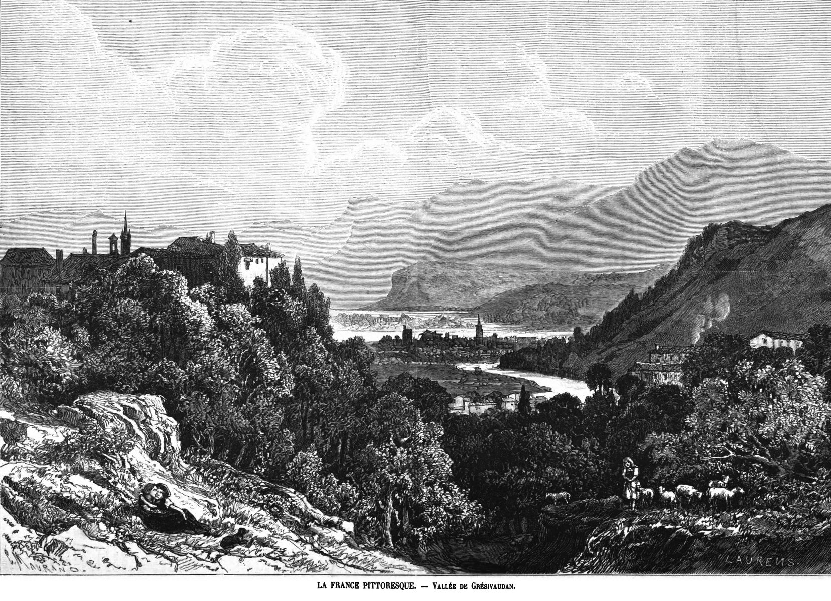 La France pittoresque : vallée de Grésivaudan.