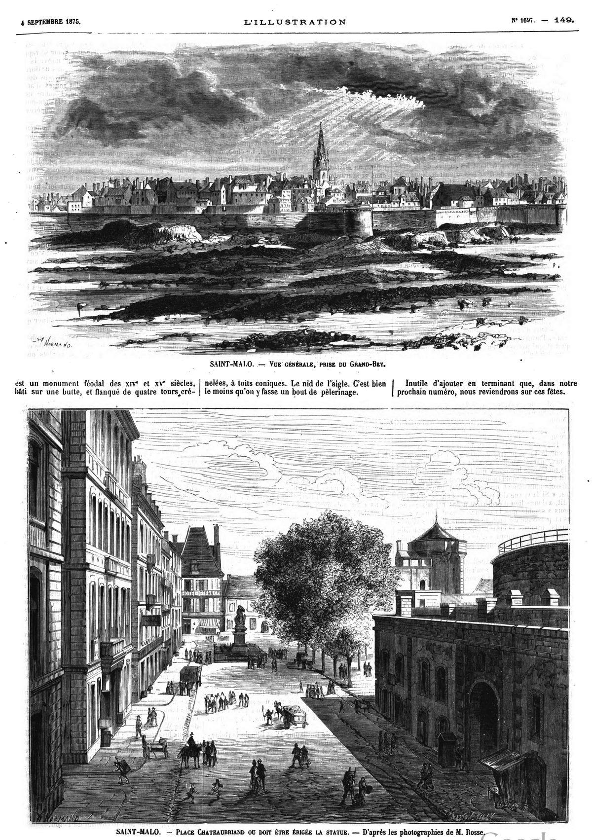 Saint-Malo (4 gravures)