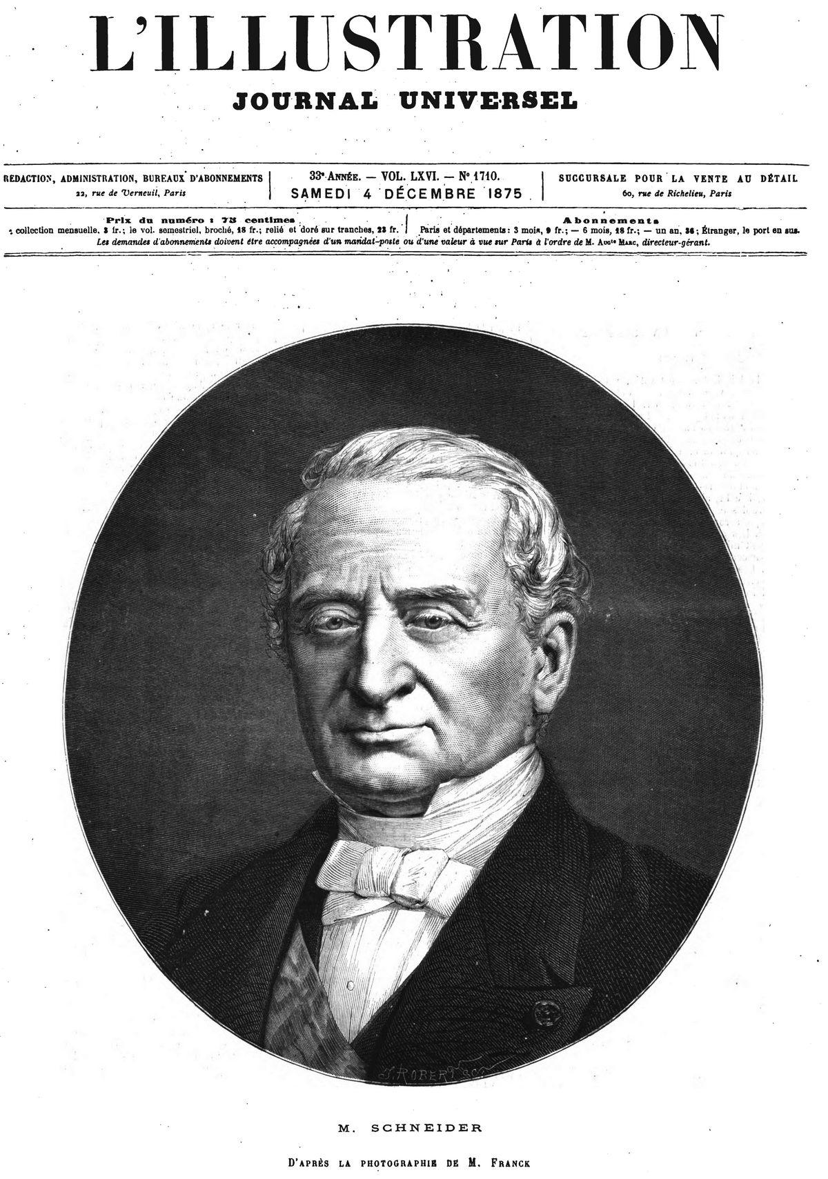 M. Schneider 1875