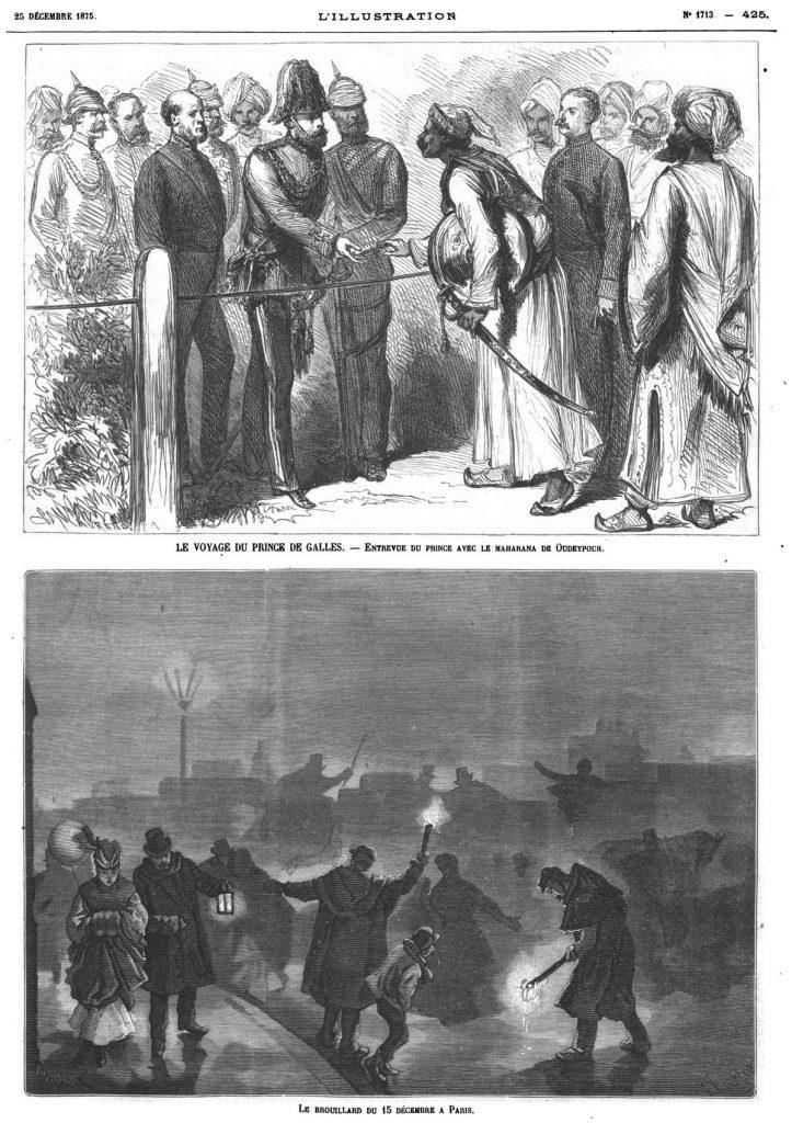 Le brouillard du 15 décembre à Paris. 1875