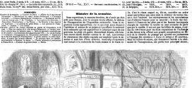 L'ILLUSTRATION JOURNAL UNIVERSEL N° 639-Arrivée du cortège impérial au palais de l'Exposition, le 15 mai 1855
