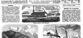 """L'ILLUSTRATION JOURNAL UNIVERSEL N° 641. la Fête-Dieu en Bretagne. le château de """"Montaigne et le château de Montesquieu  1855"""