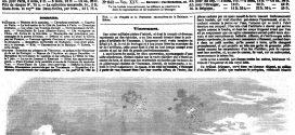 L'ILLUSTRATION JOURNAL UNIVERSEL N° 642. Exercices au polygone de Vincennes, en présence de l'Empereur et du roi de Portugal 1855
