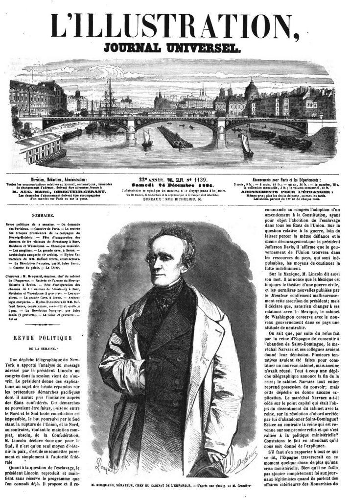 M. Mocquard, sénateur, chef du cabinet de l'Empereur.