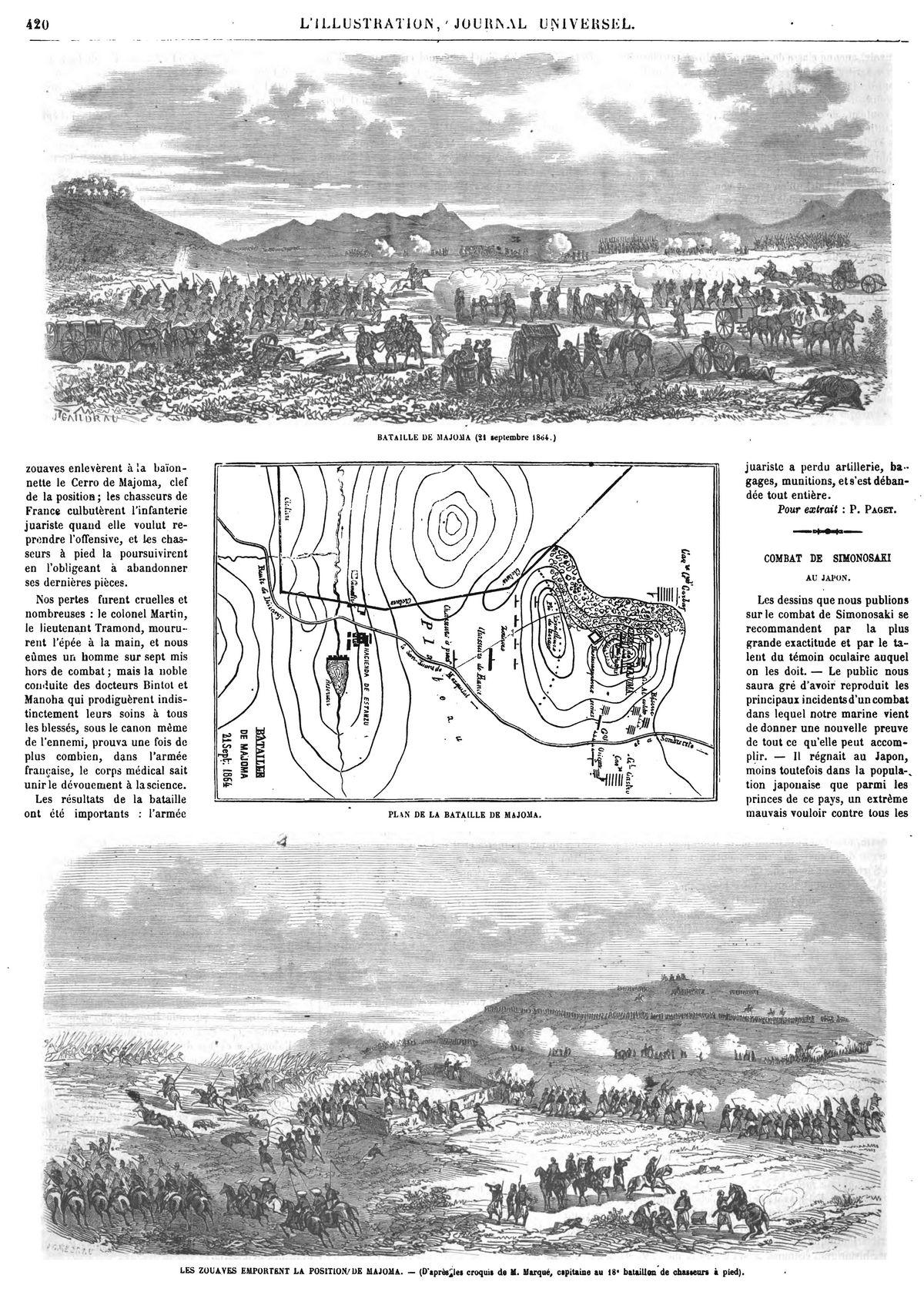 Bataille de Majoma (21 septembre 1864)