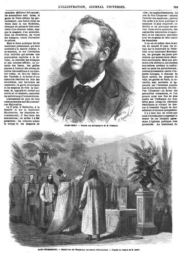 M. Jules Ferry. 1869