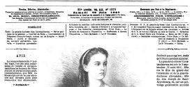 L'ILLUSTRATION JOURNAL UNIVERSEL N° 1270. Gravure de La grande-duchesse Olga Constantinovna. 1867