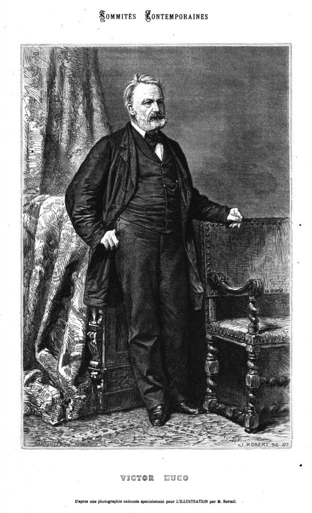 Sommités contemporaines: Victor Hugo.