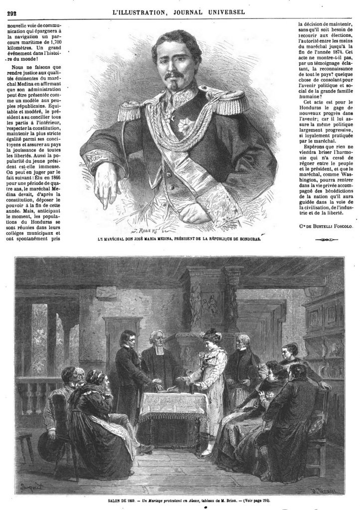 Le maréchal Don José Maria Medina