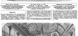 L'ILLUSTRATION JOURNAL UNIVERSEL N° 1375. Ligne internationale de la Paix: Assemblée générale annuelle. 1869