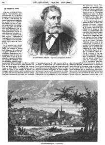 LE MAJOR GÉNERAL FRÉMONT. - D'après une photographie de M. Liébert.