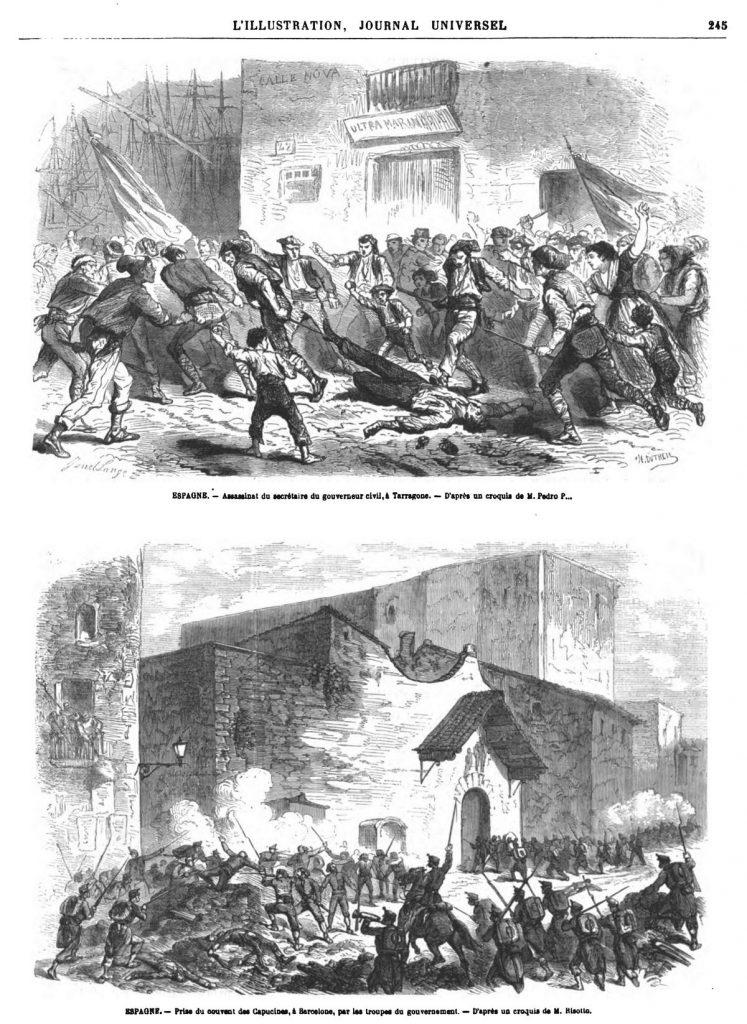 Événements d'Espagne 1869