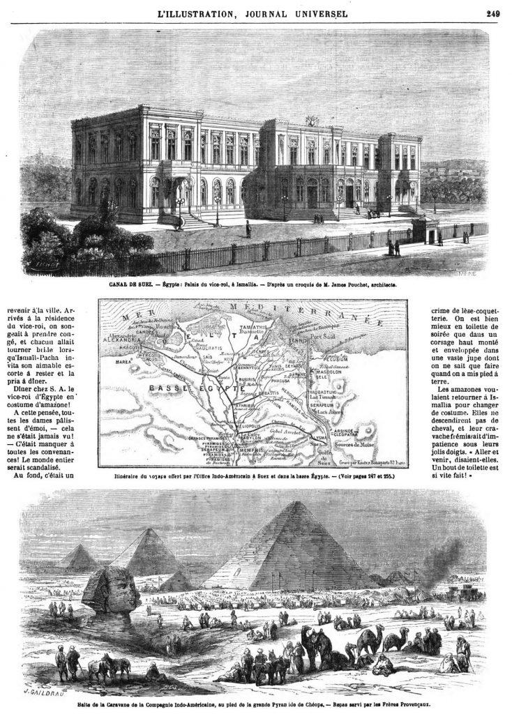 L'Isthme de Suez : Itinéraire pittoresque