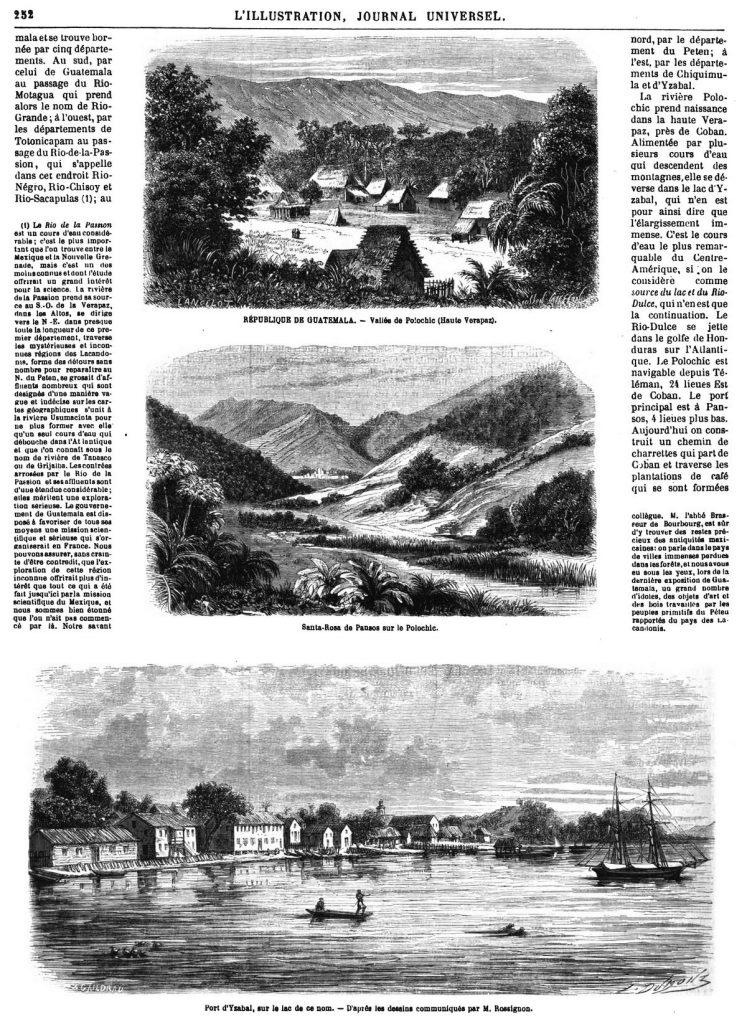 La République de Guatemala 1869