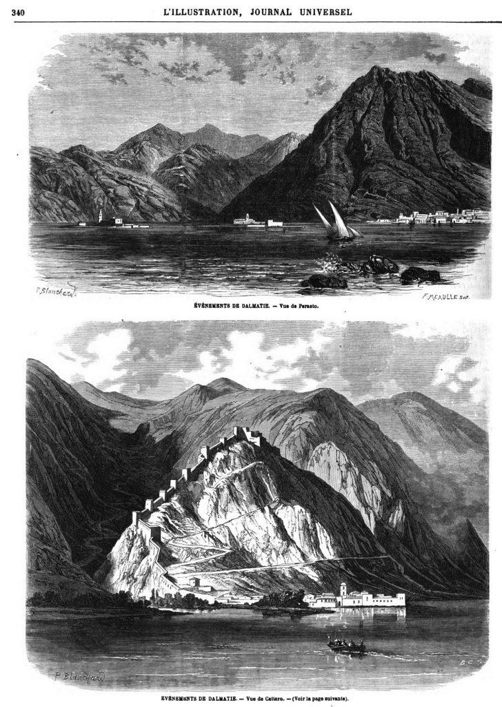 Événements de Dalmatie 1869