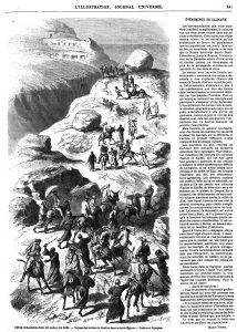 FÉTEs D'INAUGURATION DU CANAL DE SUEZ. — Voyage des invités du khédive dans la haute Égypte.- visite aux hypogées, 1869