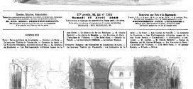 L'ILLUSTRATION JOURNAL UNIVERSEL N° 1364 Espagne : les volontaires de l'expédition de Cuba. 1869