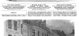 L'ILLUSTRATION JOURNAL UNIVERSEL N° 1371.Événements de Cuba: Arrivée à Havane des volontaires espagnols. 1869
