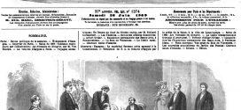 L'ILLUSTRATION JOURNAL UNIVERSEL N° 1374. Le Câble transatlantique français 1869