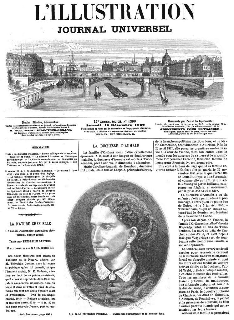 S. A. R. la duchesse d'Aumale