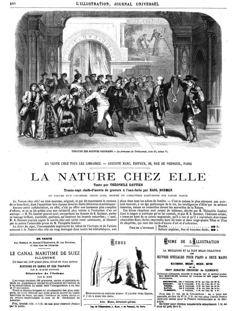 Théâtre des Bouffes-Parisiens:La princesse de Trébizonde, acte III, scène VI.