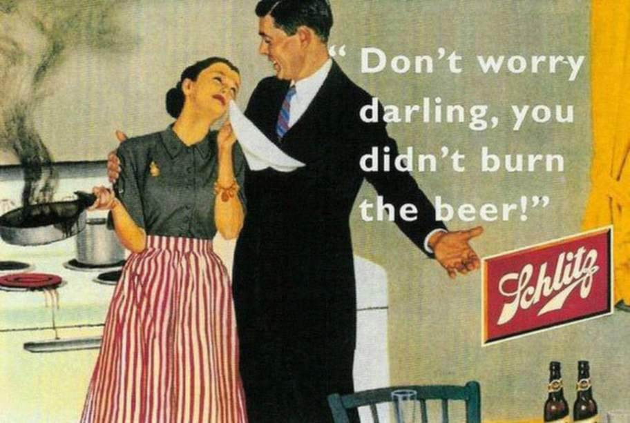 Ne t'inquiète pas chérie, tu n'as pas bruler la bière !