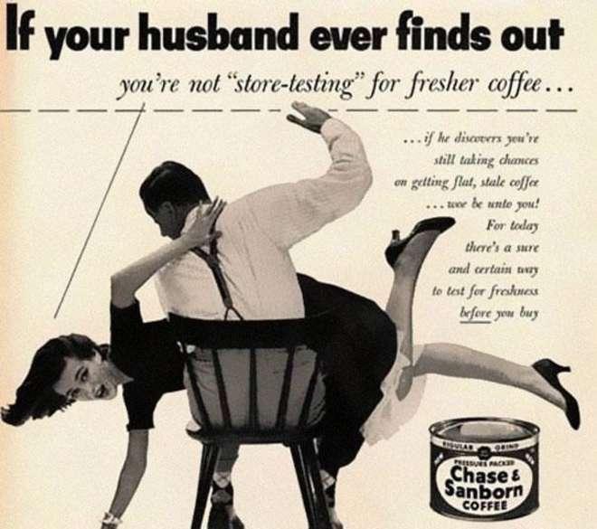 Vendre du café, avec un argument bien ... particulier