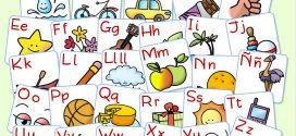 Alphabet espagnol en images à imprimer.