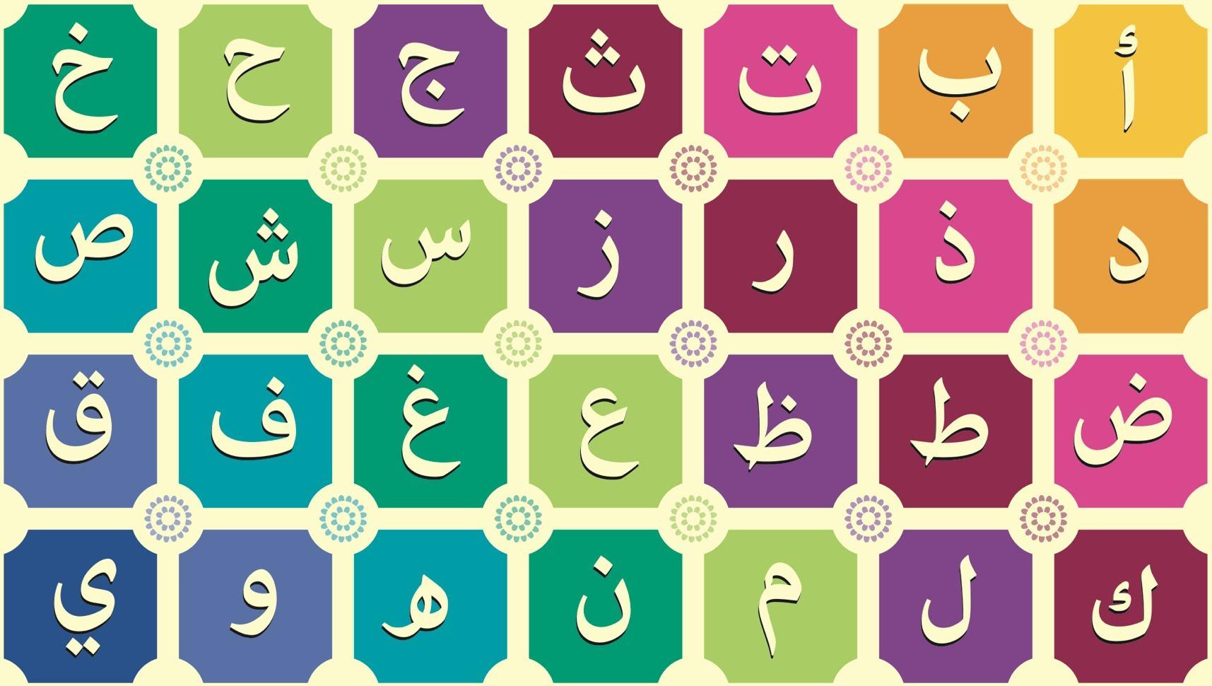 Alphabet Arabe en images à imprimer